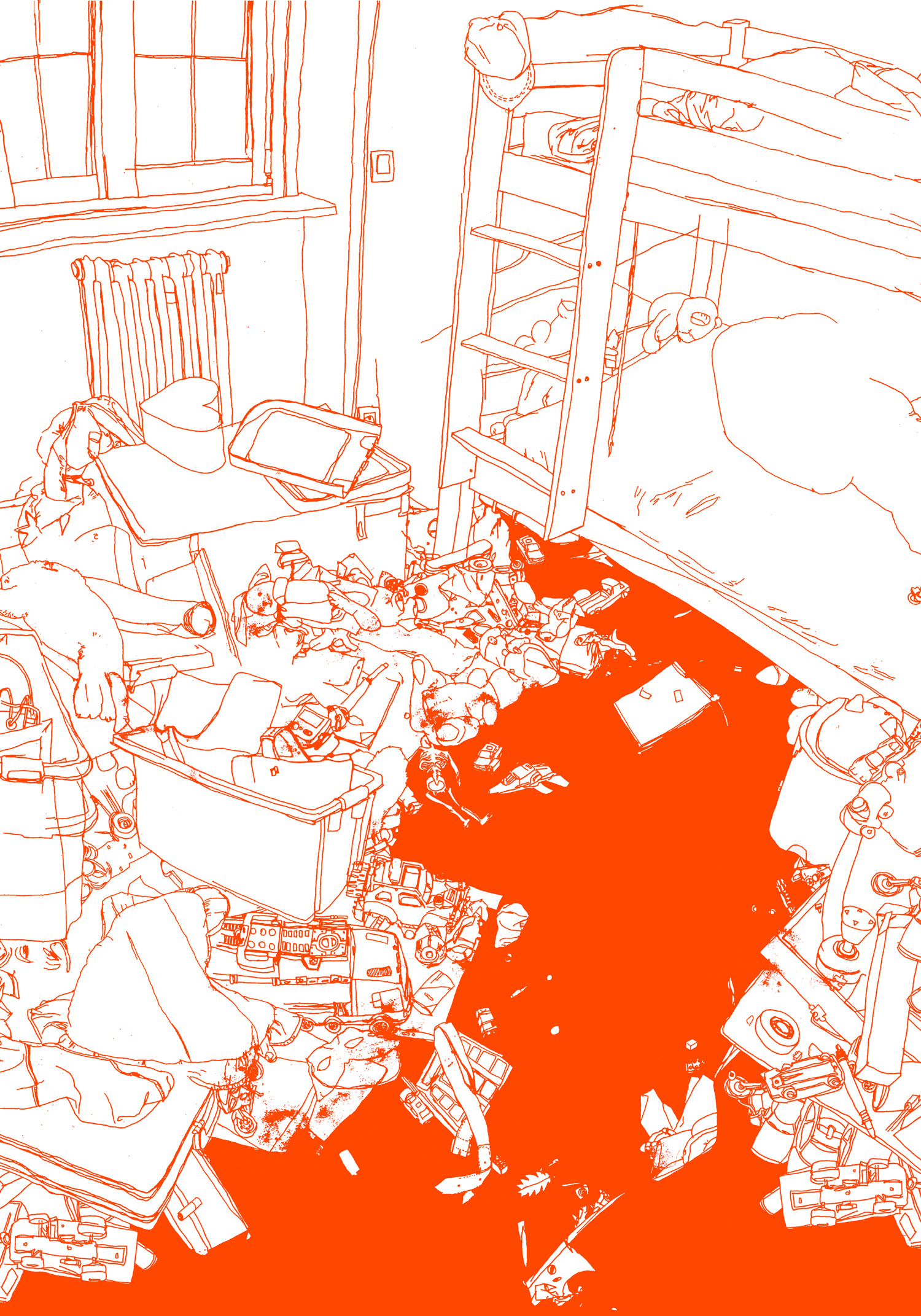 chambre-rouge